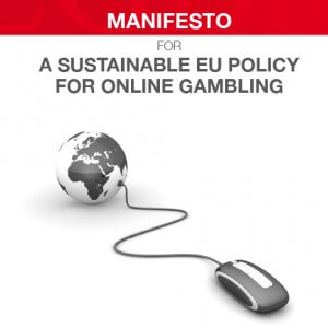 EGBA Manifesto on a sustainable EU policy for online gambling