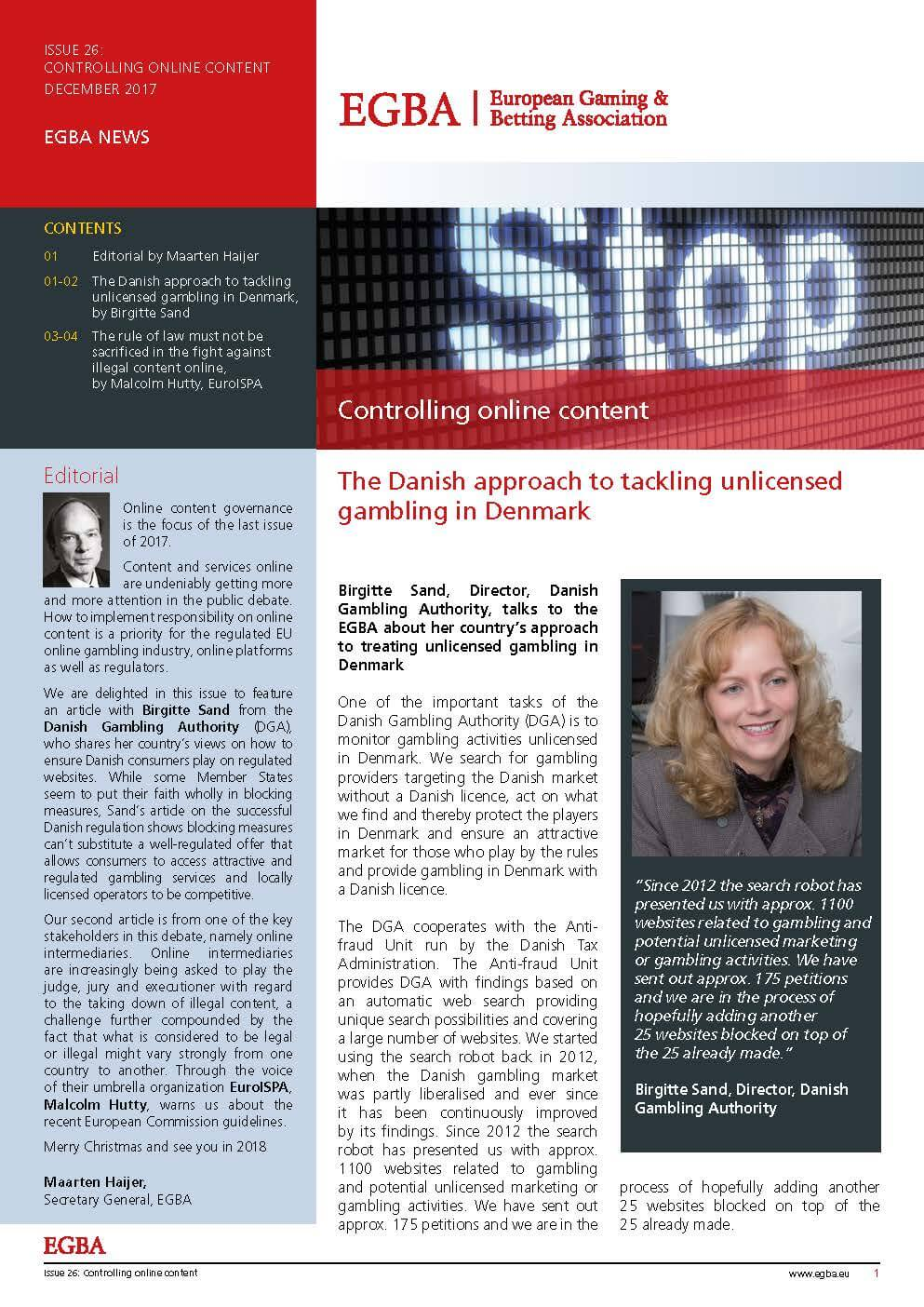 Issue 26: Controlling Online Content