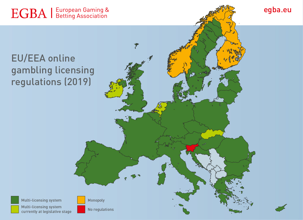 Licensing regimes in Europe