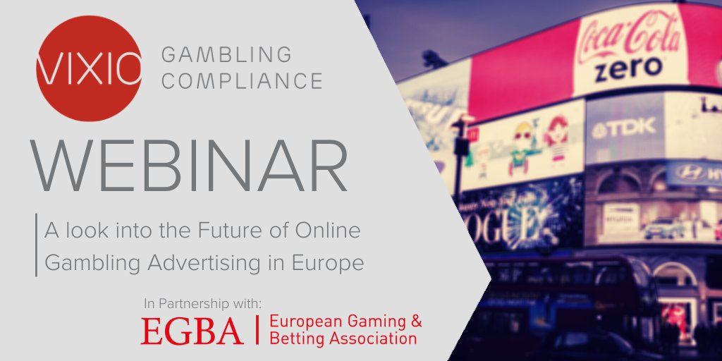Invitation (webinar): A look into the Future of Online Gambling Advertising in Europe