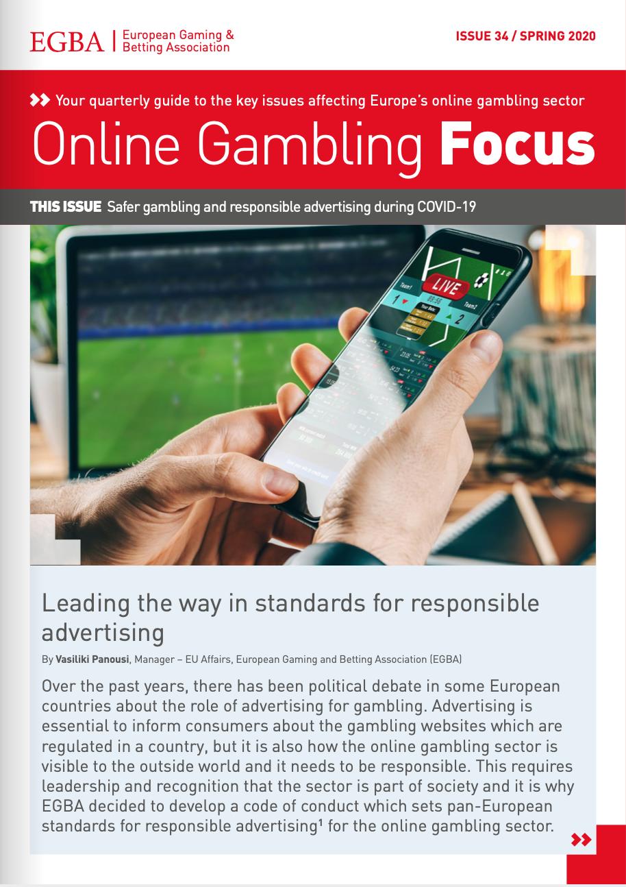 Online Gambling Focus - Spring 2020