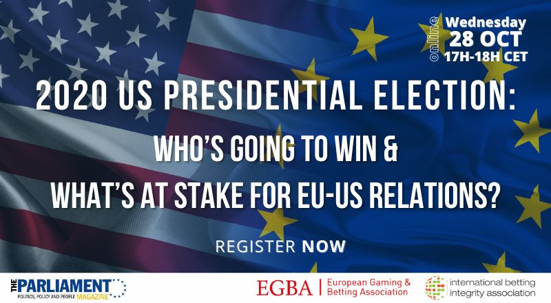 EVENT: 2020 US Presidential Election: Who's Going To Win & What's At Stake For EU-US Relations?