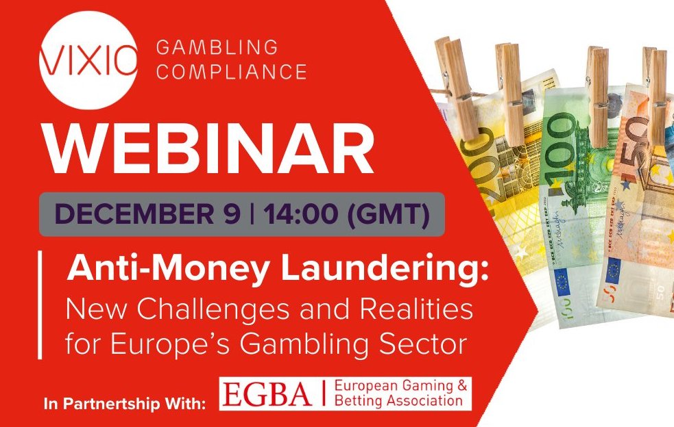 WEBINAR: Anti-Money Laundering: New Challenges and Realities for Europe's Gambling Sector