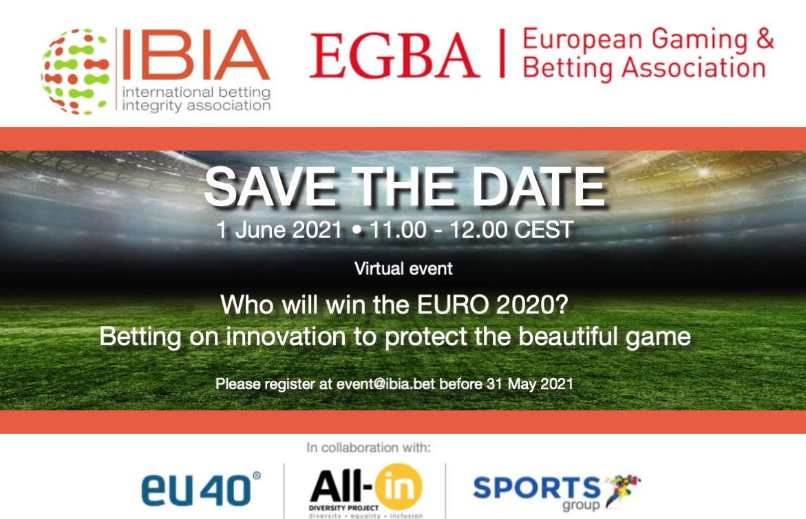 EVENT: Who will win the EURO 2020? 1 June